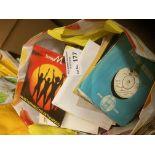 "Records : Bag of 250+ 7"" singles - good lot"