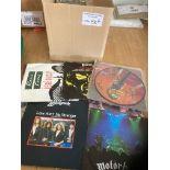 Records : 50 Heavy Metal/Rock 45's inc Scorpions.