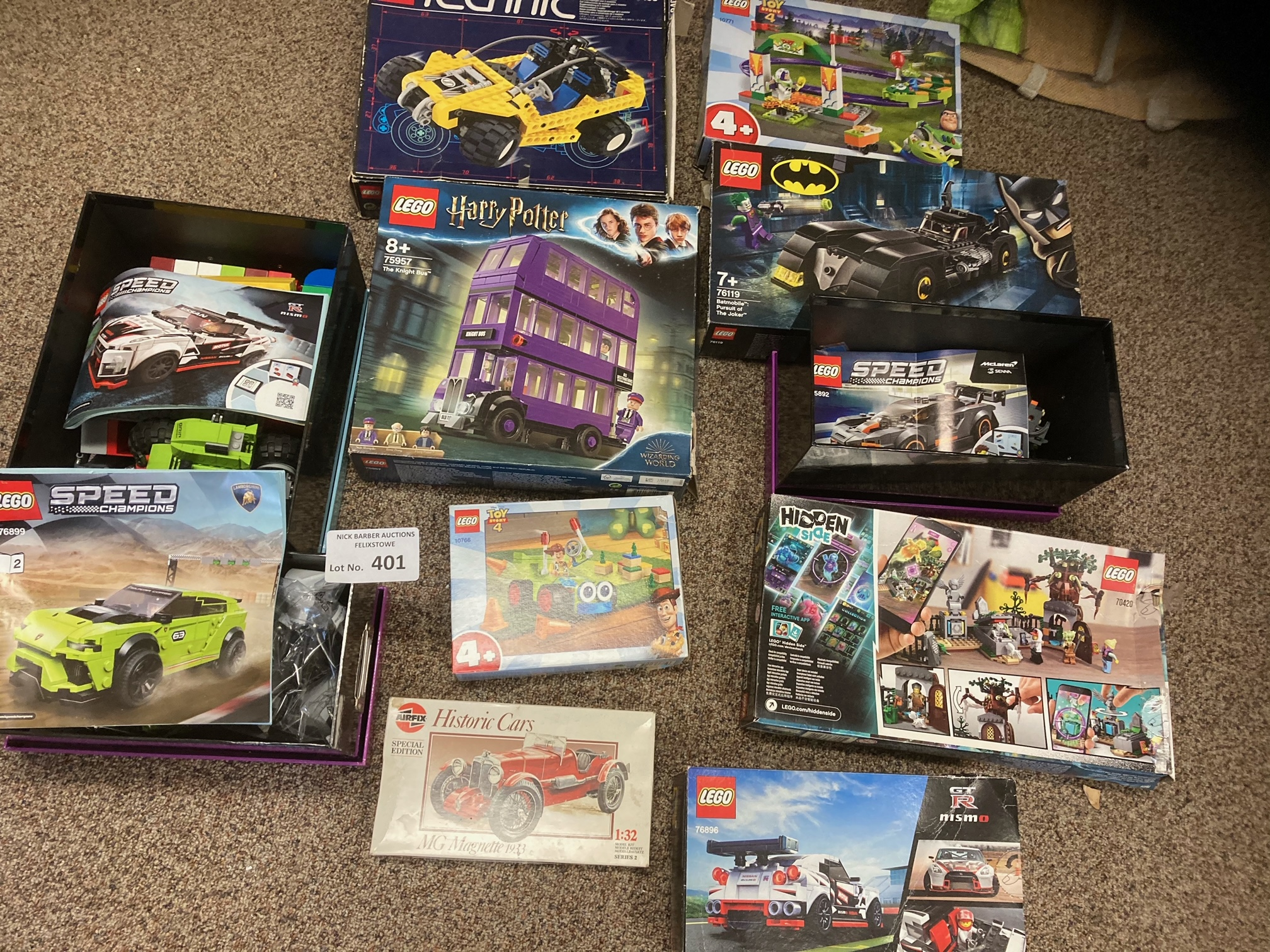 Diecast : Lego - Nice collection of boxed sets sol