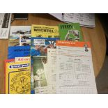 Sports Programmes : Mixed lot inc prog signed by O
