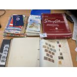 Stamps : Various inc IOM covers / IOM TT stamps Ge