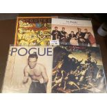 Records : POGUES - 4 superlative UK first pressing