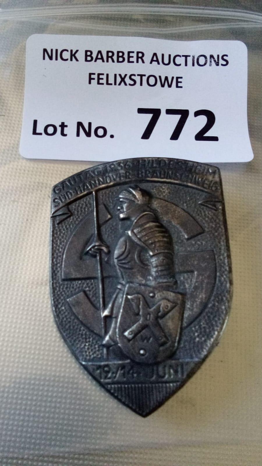 Militaria : German NSDAP interest a breast badge,