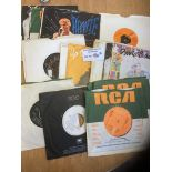 """Records : 23 DAVID BOWIE collection of 7"""" singles"""