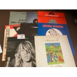 """Records : Rock albums/12"""" singles/EP's - barely pl"""