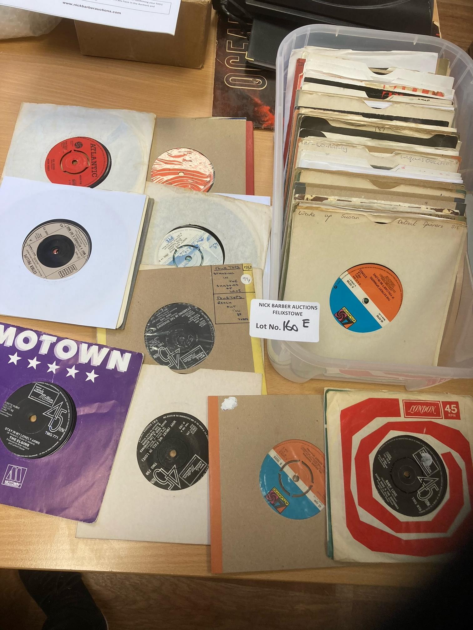Records : 80+ Soul/Northern Soul/Motown 45's inc F