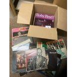 Records : Jazz - Jazz - heavy box of 80+ albums in