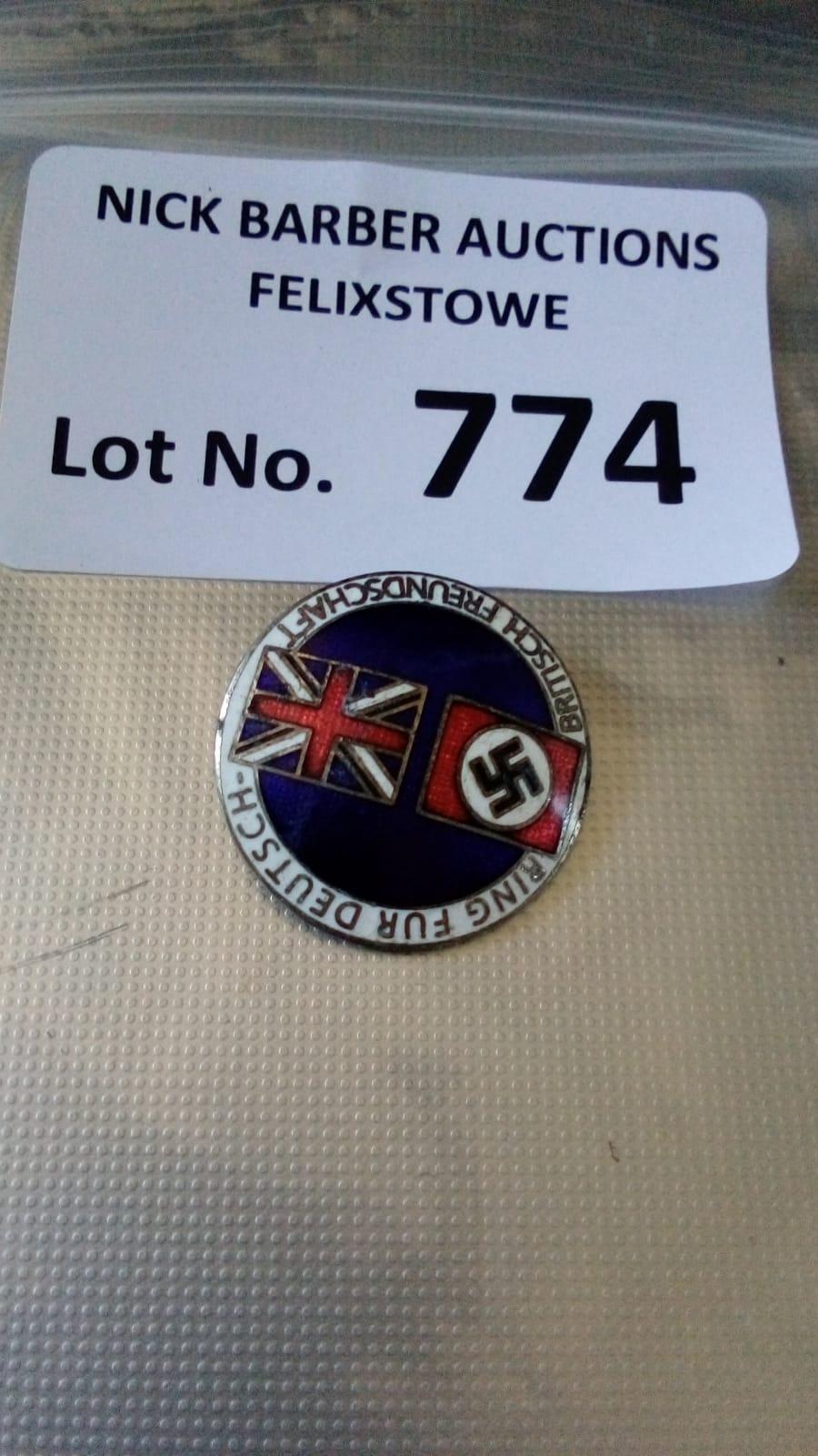 Militaria : German NSDAP interest a lapel badge, s