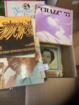 Records : Jazz - good box of 60+ Jazz albums - goo