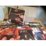 Records : 40 Classic Rock albums inc Bowie, Queen,