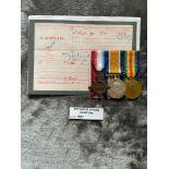 Militaria : Trios medal group to Pte. Alderslade 4
