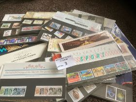 Stamps : GB presentation packs mostly 1990's x57 w