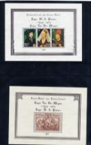 Stamps : Belgium Mainly UMM Selection on album pag