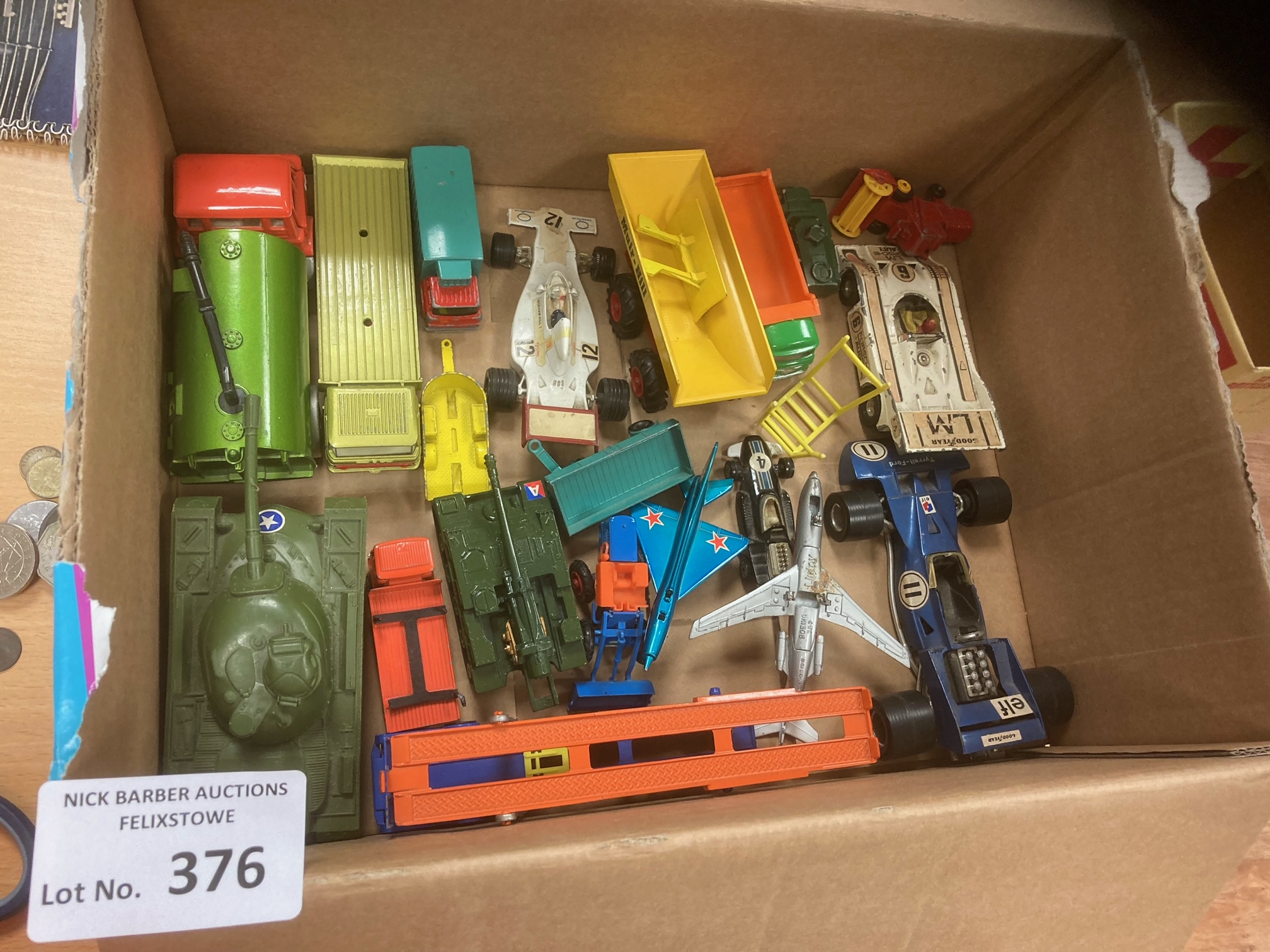 Diecast : Box of playworn - but generally good con - Image 2 of 2
