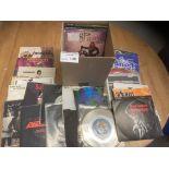 Records : 40 Heavy Metal 45's inc Metallica, Motor