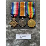 Militaria : 1914-15 Trio to TI-3939 Dvr. G Gardine