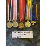 Militaria : Selection of 5 miniatures