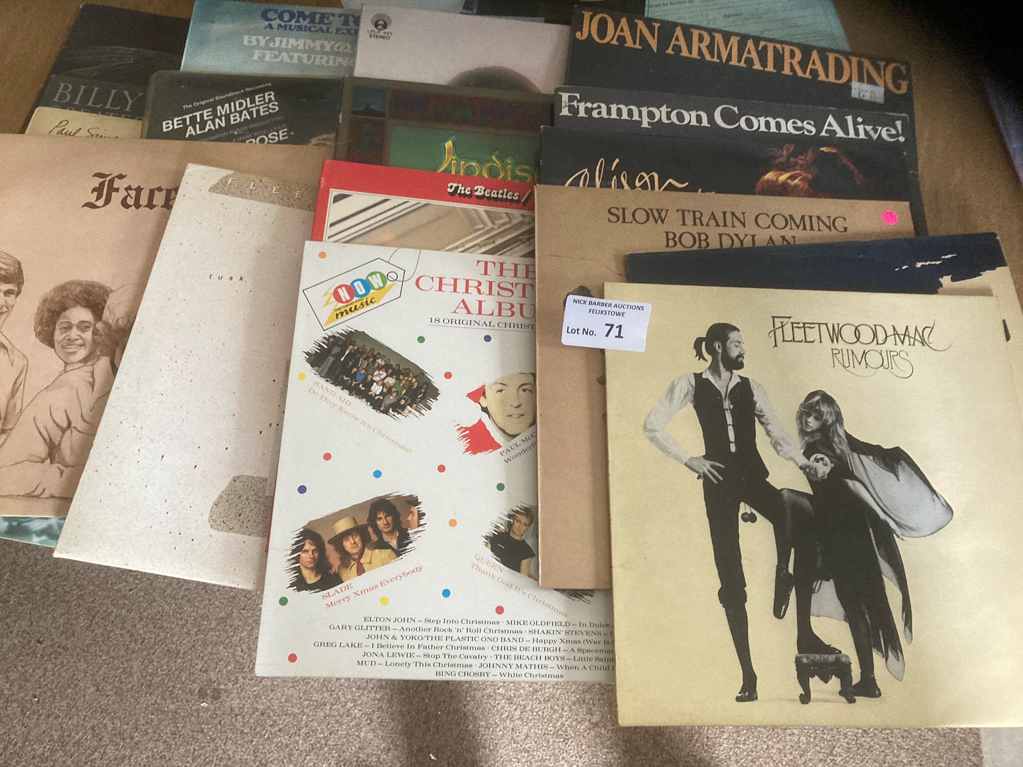 Records : Collection of records inc Flletwood Mac,