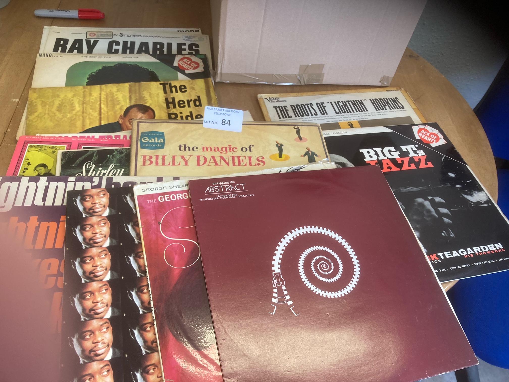 Records : 30 Blues & Jazz albums mostly original i