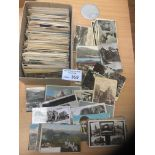 Postcards : A box of 750+ vintage world-wide topo
