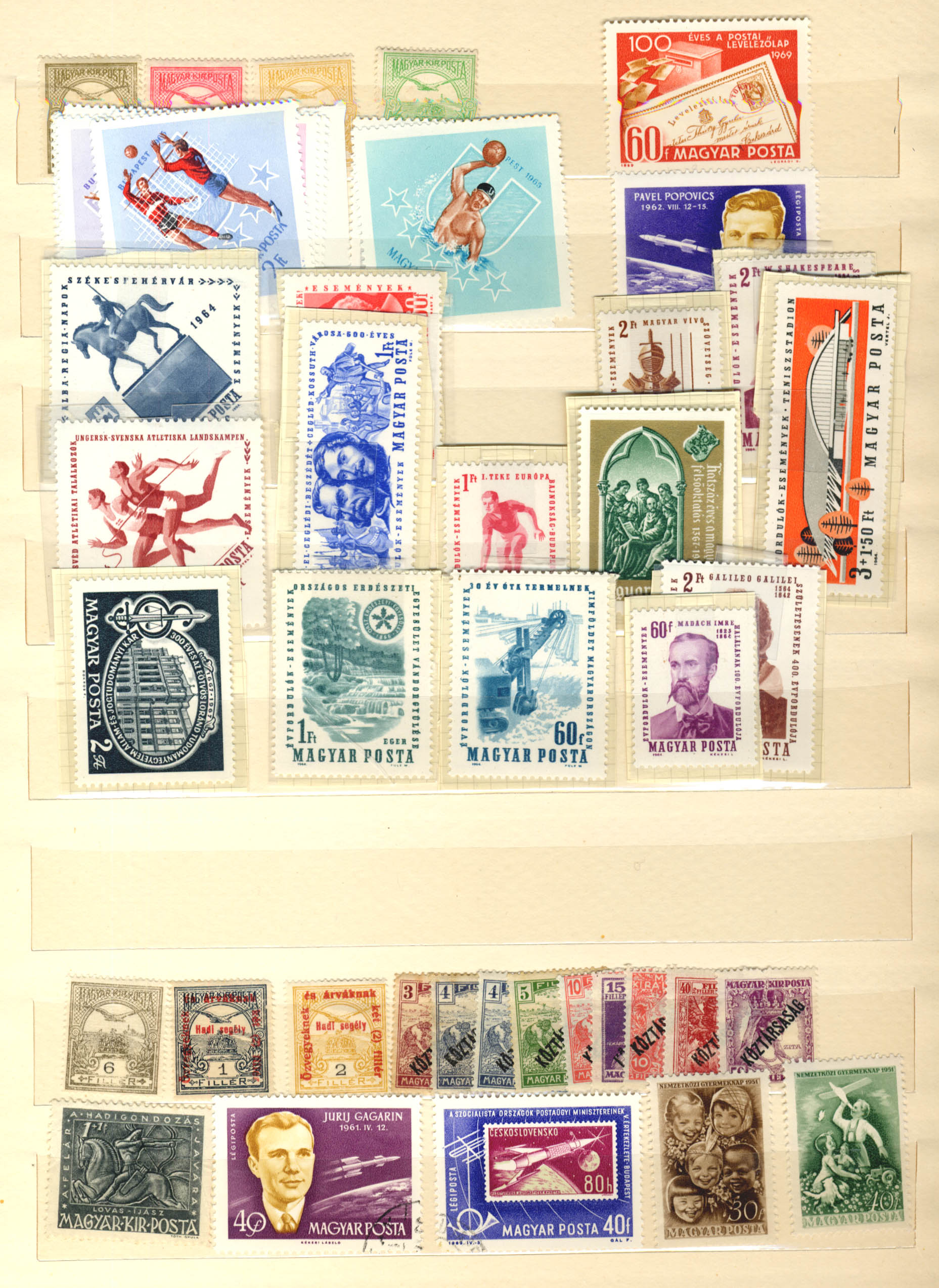 Stamps : Hungary Early to Modern Mint Selection in - Image 2 of 2
