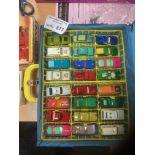 Diecast : Matchbox carry case full of models plus
