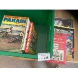 Speedway : Box of various books inc some vintage &