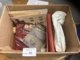 Stamps : Large box of WORLD stamp mix within album