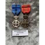 Militaria : Belgium Order of the Leopold II & Belg