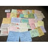 Football : Tickets - nice collection - many connec