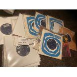"Records : ROLLING STONES 7"" singles - super lot, m"
