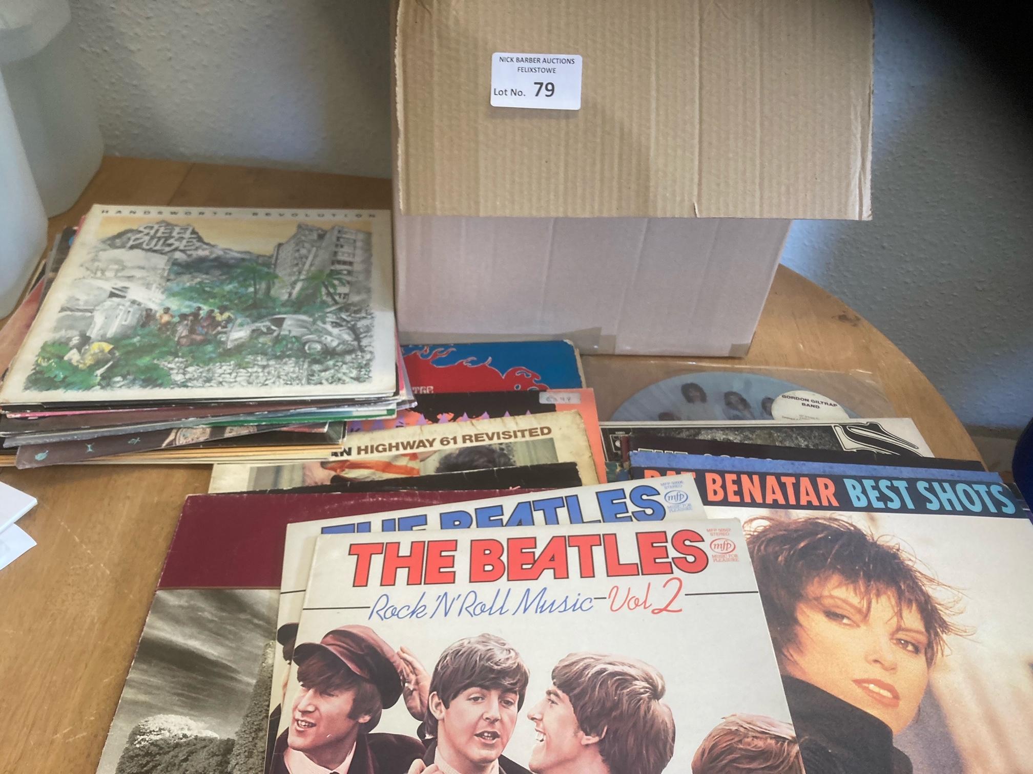 Records : 40 Classic Rock albums inc Santana, U2,