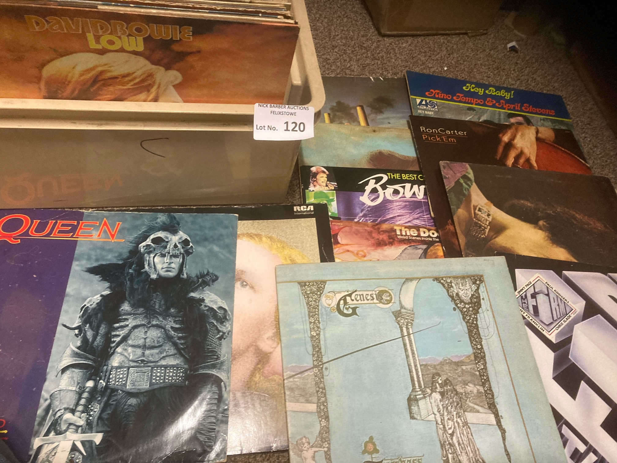 """Records : 25+ Classic Rock albums & 12"""" singles in"""