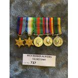 Militaria : Group of 5 miniatures