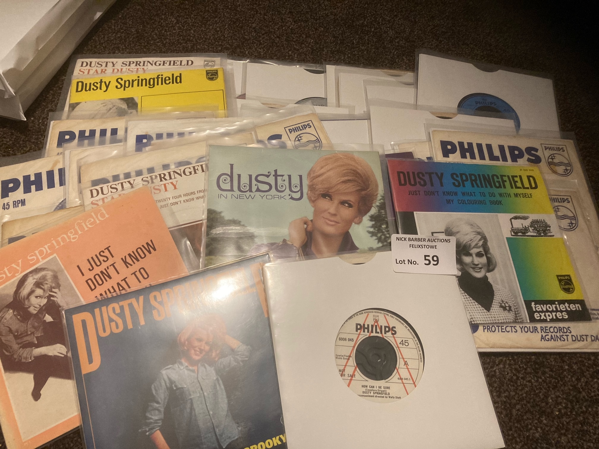 Records : DUSTY SPRINGFIELD - super collection of