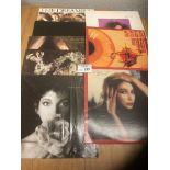 Records : KATE BUSH collection (8) mostl albums -