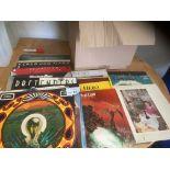 Records : 40 Classic Rock albums inc Led Zeppelin,