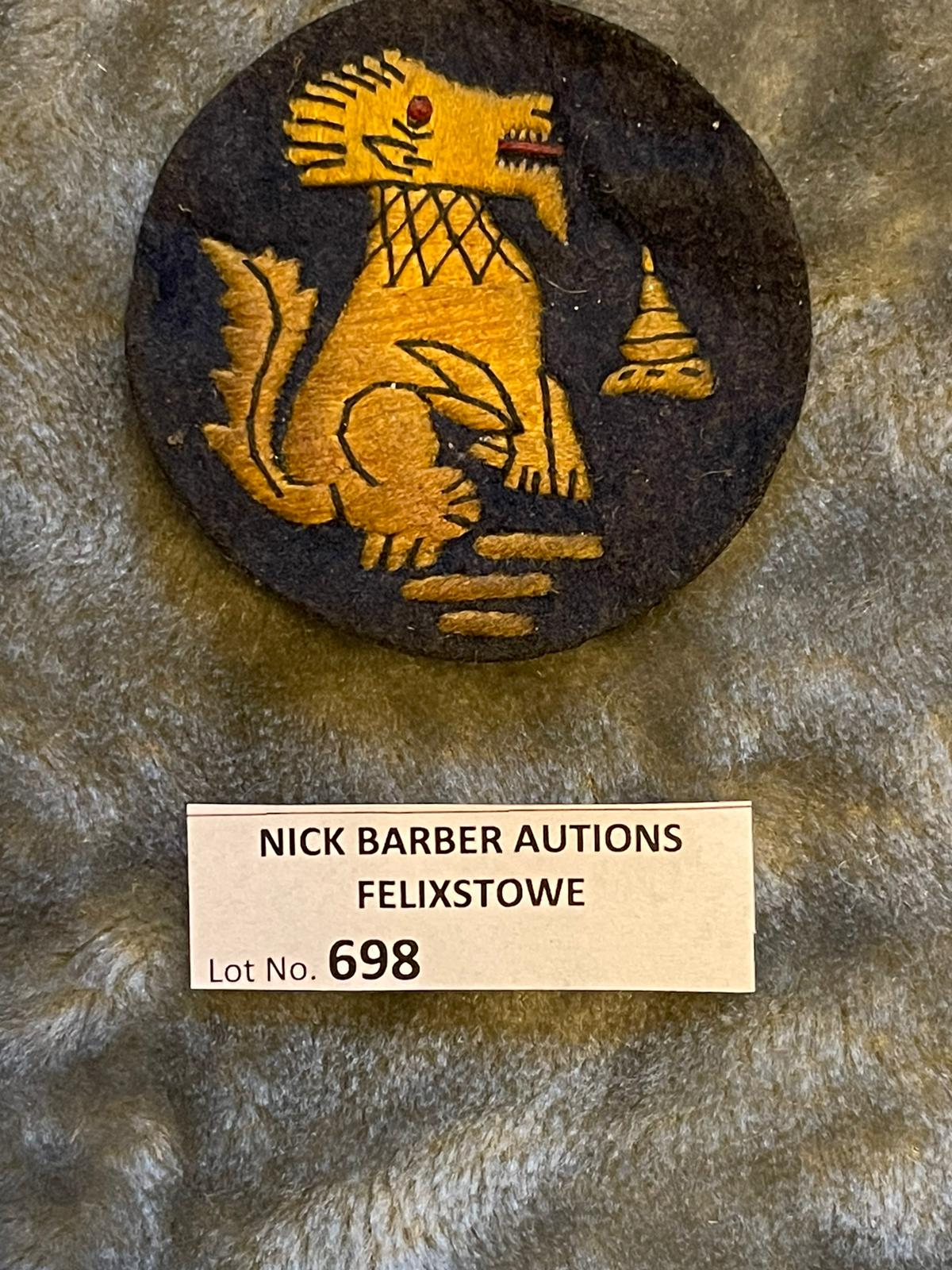 Militaria : Chindit Cloth Badge.