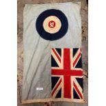 Militaria : New Zealand RAF Flag stamped RNZAF OHA