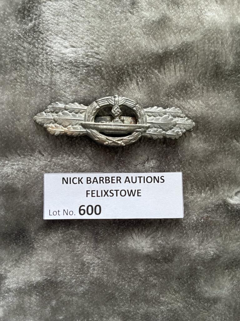 Militaria : Germn Naval U-boat combat claps 1944/5