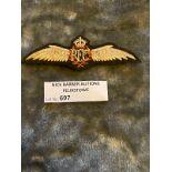 Militaria : RFC Cloth Badge.