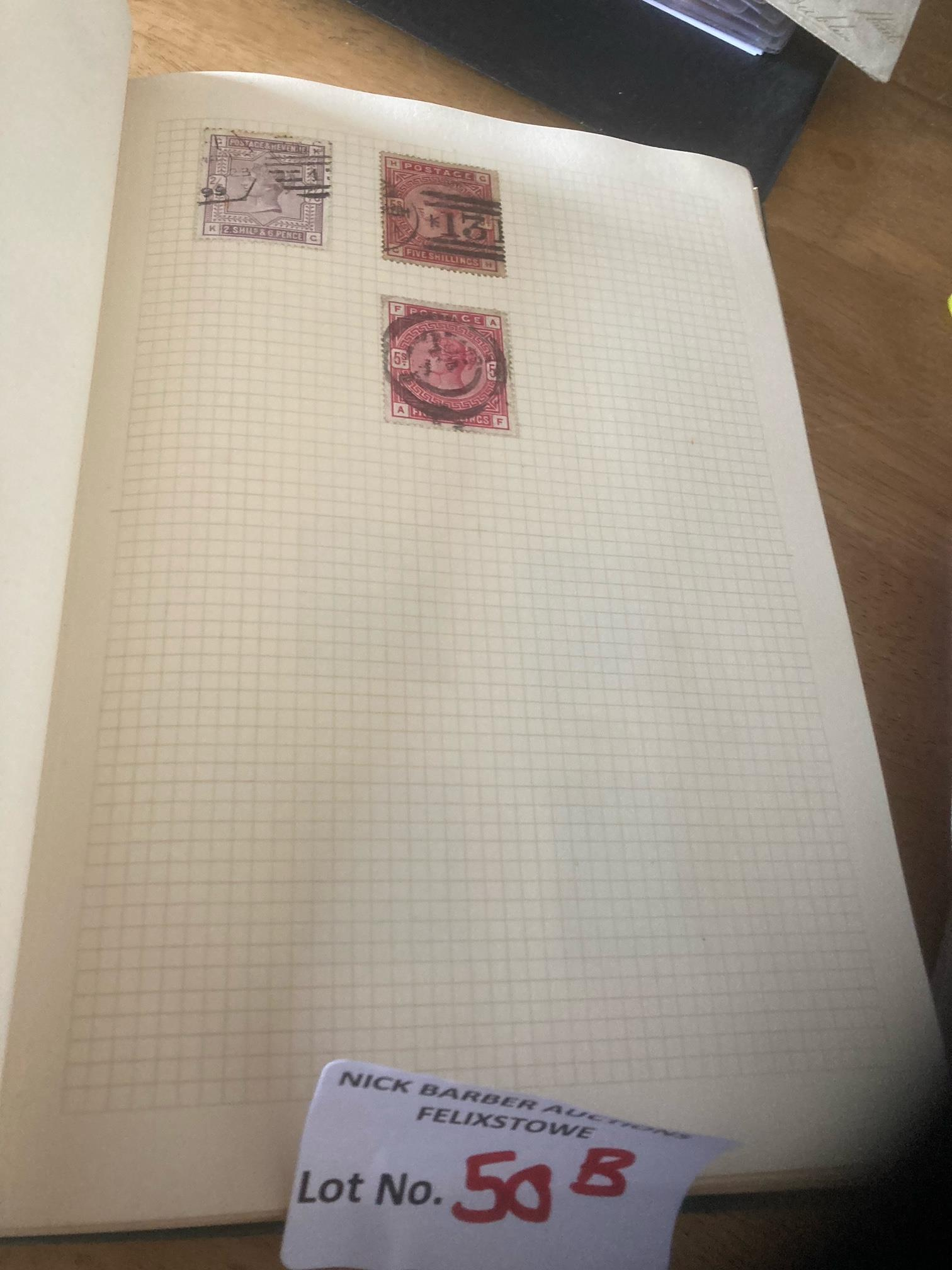 Stamps : Nice album of GB early reds & some HV's - - Image 2 of 5