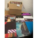 Records : 30 Classic Rock albums inc Bowie, Pink F