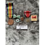 Militaria : Japan selection including WW1 Victory