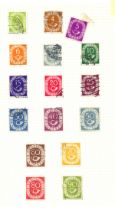 Stamps : Germany A rather untidy accumulation in