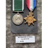 Militaria : 1914-15 Star T.1930 L. Mack. Sto.R.N.R