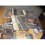 Records : Box of Frank Sinatra/Nat King Cole - all