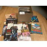 Records : 40 Heavy Metal 45's inc Wasp, Motorhead,