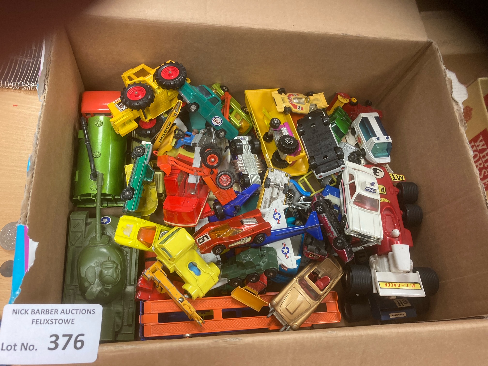 Diecast : Box of playworn - but generally good con