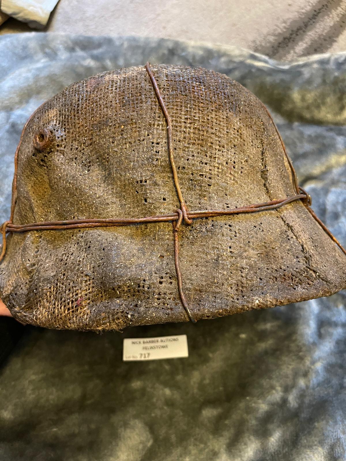 Militaria : Imperial German M16 Stalhelm helmet. H - Image 2 of 3
